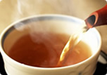 コーヒーやお茶にも